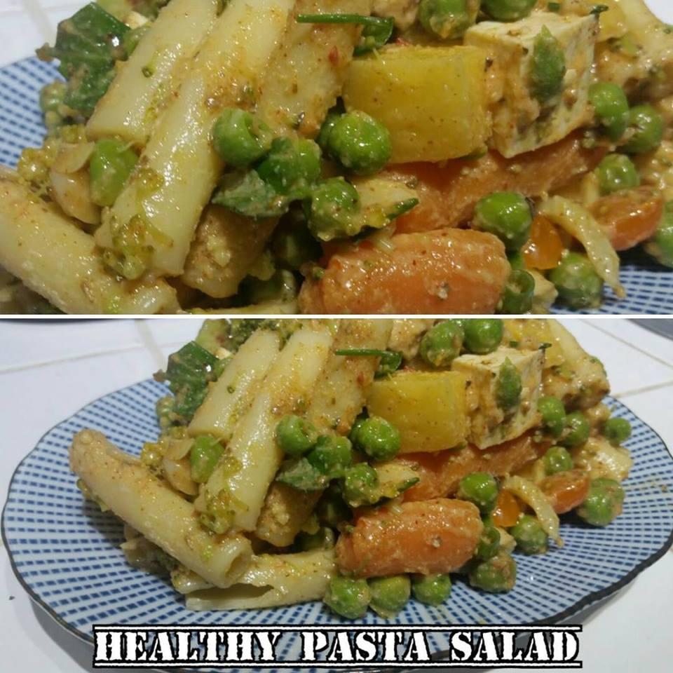 healthy pasta salad recipe | StudioPhysique
